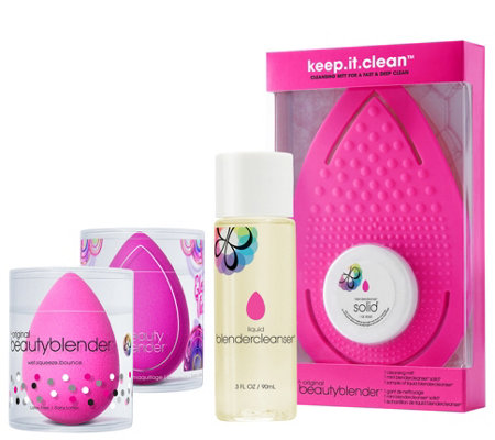 Beautyblender Electric Blend Cleanse Set