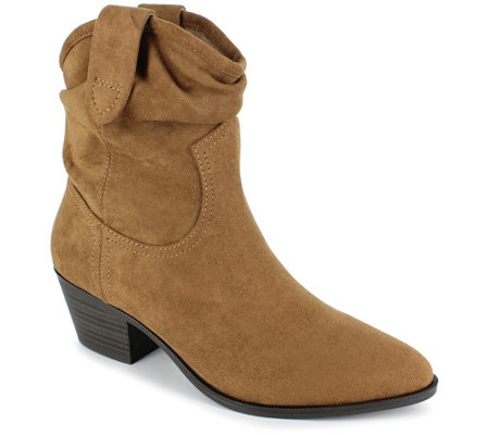 Esprit Western Inspired Pull-On Booties - Polina