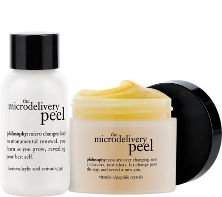 philosophy 2-step vitamin C microdelivery peptidepeel2oz.