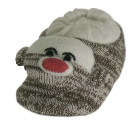 Unisex Sock Monkey Slippers