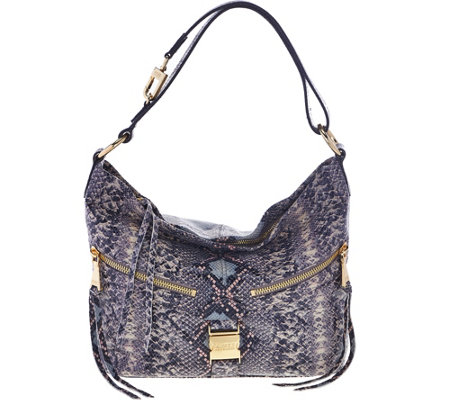 Aimee Kestenberg Pebble Leather Convertible Hobo-Lafayette