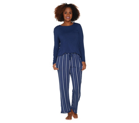 Cuddl Duds Softwear with Stretch Pajama Set