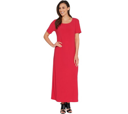 Linea by Louis Dell'Olio Petite Moss Crepe Maxi Dress