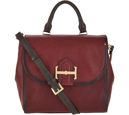 """As Is"" Tignanello Vintage Leather Crossbody- Laredo"