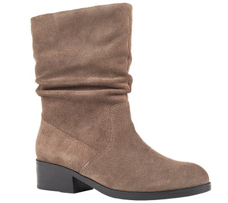 Cougar Waterproof Mid-Shaft Suede Pull-On Boots- Chi Chi