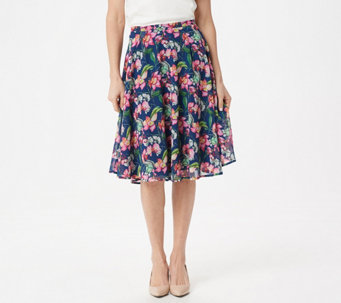 BROOKE SHIELDS Timeless Printed Half Circle Skirt - A349839 0af17ef1e59