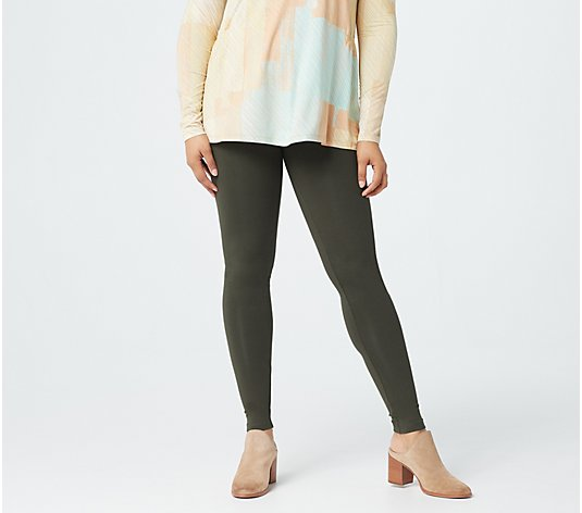 LOGO Layers by Lori Goldstein Knit Legging with Pocket Details