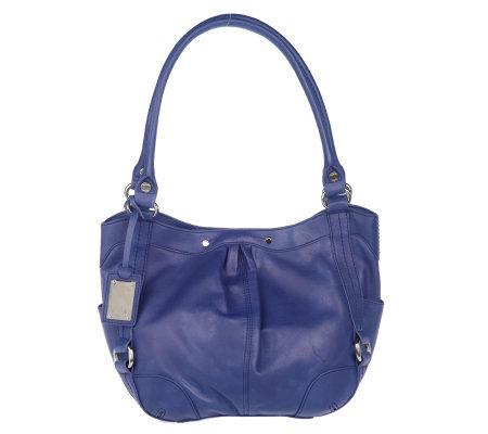 c64137bf6c Tignanello Glove Leather Double Handle Hobo Bag - Page 1 — QVC.com