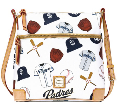 Dooney & Bourke MLB Padres Crossbody
