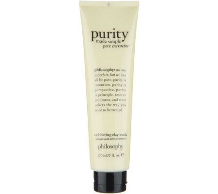 philosophy super-size purity pore extractor clay mask