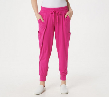 Cuddl Duds Flexwear Jogger Pants With Pockets