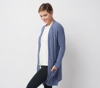 Barefoot Dreams Cozychic Ultra Lite Long Cardi - A350640