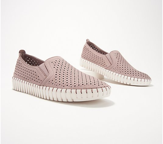 Skechers Perforated Slip-On Shoes