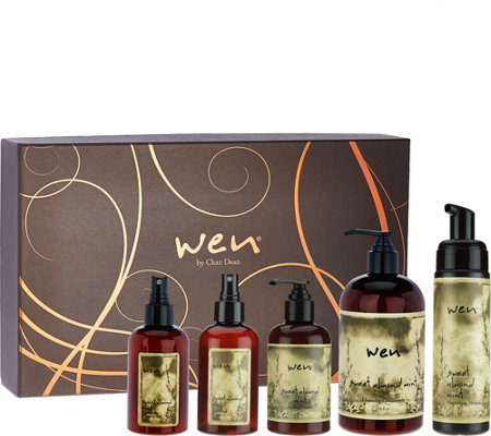 WEN by Chaz Dean 5-piece Gift Set