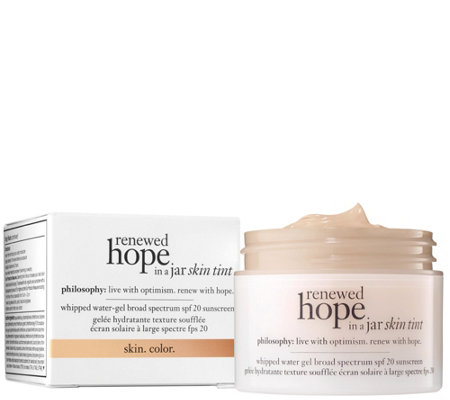 philosophy renewed hope in a jar skin tint,1 oz