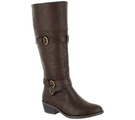 Easy Street Wide-Calf Tall Boots - Kelsa Plus