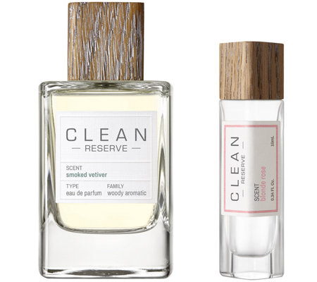 CLEAN Reserve Smoked Vetiver EDP & Pen SprayDuo