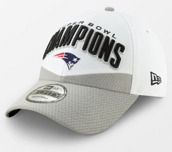NFL Super Bowl LIII Patriots Locker Room Cap by New Era - A367640 e2475db19