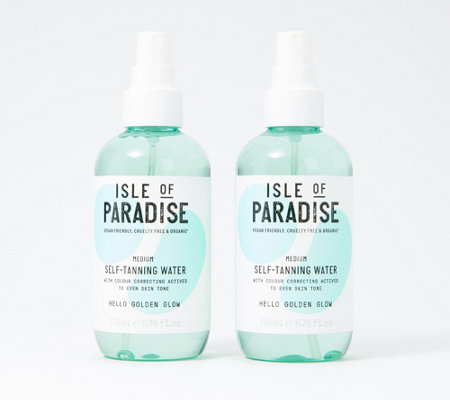 Isle Of Paradise Self Tanning Water Duo