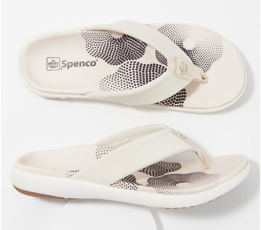 Spenco Orthotic Memory Foam Thong Sandals - Victoria
