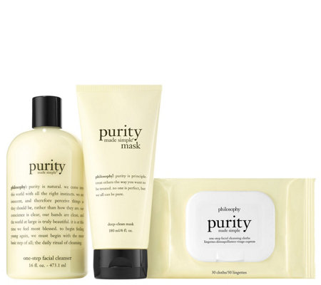 philosophy purity made simple trio