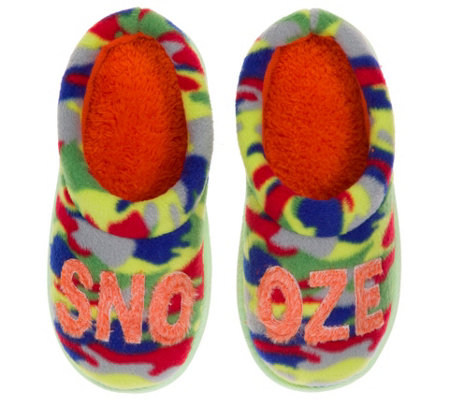 Dearfoams Novelty Boys Clog Slippers
