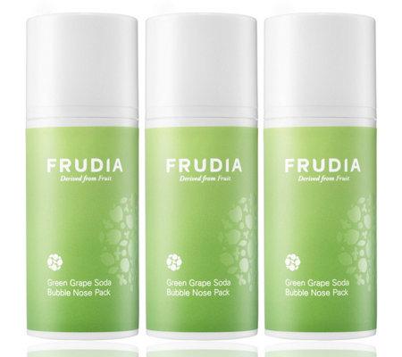 Frudia Green Grape Soda Bubble Nose Pack Set Of 3