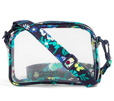 Vera Bradley Clearly Colorful Stadium Crossbody