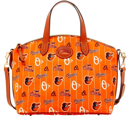 Dooney & Bourke MLB Nylon Orioles Small Satchel