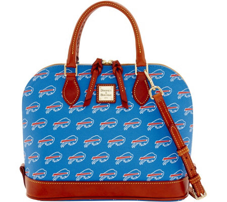 Dooney & Bourke NFL Bills Zip Zip Satchel