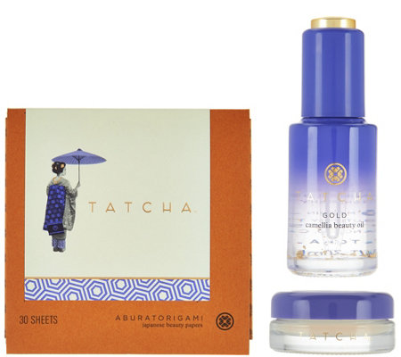 Tatcha 3 Piece Camellia Beauty Collection