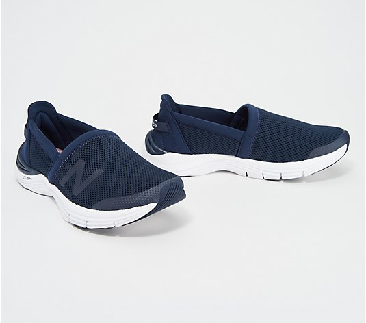 New Balance x Isaac Mizrahi Live! Mesh Slip-on Sneakers - 260