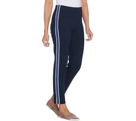 As Is Susan Graver Regular Weekend Premium Stretch Pants