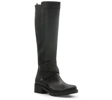 Mootsies Tootsies Knee Length Buckle Boots - Darren