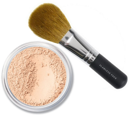 bareMinerals SPF 15 Foundation with Flawless Face Brush