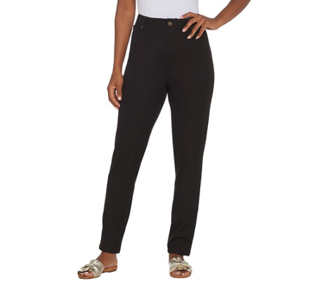 Linea by Louis Dell'Olio Petite Jean Style Pants