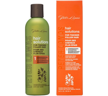 Peter Lamas Hair Solutions Energizing Shampoo,8.5 oz