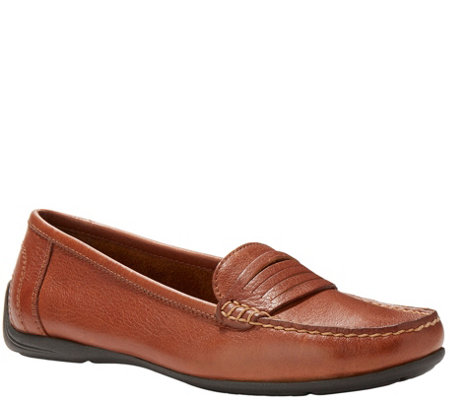 Eastland Leather Slip On Loafers  - Annette
