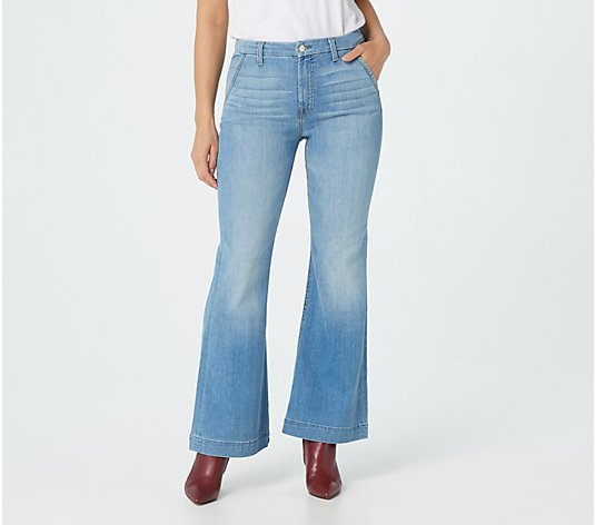 Jen7 by 7 for All Mankind Tailorless Trouser - La Quinta