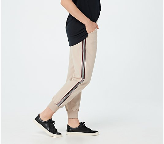 Bishop + Young Regular Designer Stripe Jogger Pants