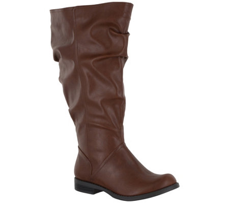 Easy Street Extra Wide-Calf Riding Boots - PeakPlus Plus