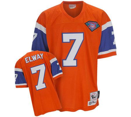 316450981 NFL Denver Broncos 1994 John Elway Authentic Throwback Jersey — QVC.com