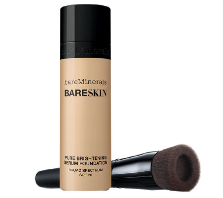bareMinerals bareSkin Serum Foundation SPF 20 w/ Brush