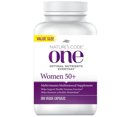 Nature's Code ONE 360 Day Once Daily Women's Multivitamin