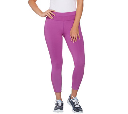 cee bee CHERYL BURKE Crop Pants with Mesh Inserts