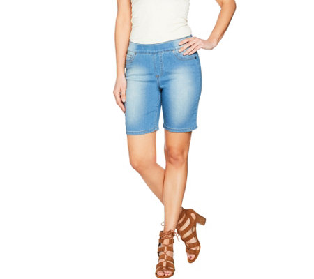 Women with Control My Wonder Denim Pull-On Shorts
