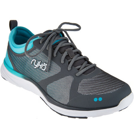 Ryka Ombre Mesh Lace-up Sneakers - Resonant NRG