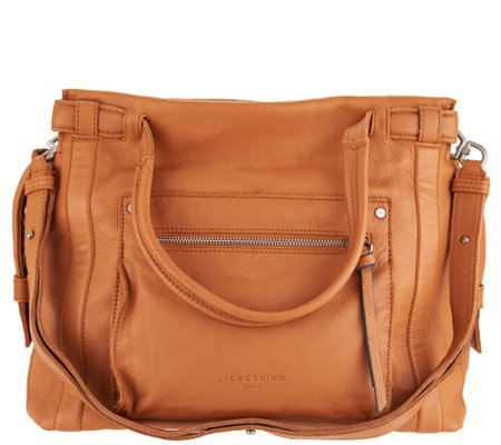 Liebeskind Sporty Vintage Leather Satchel -Virginia