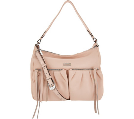 Aimee Kestenberg Pebble Leather Convertible Hobo- Dallas