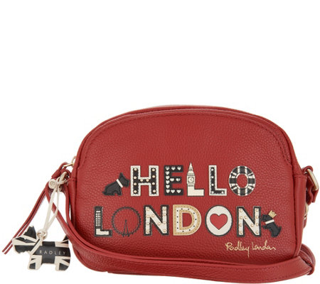 "RADLEY London ""Londons Calling"" Small Ziptop Crossbody"